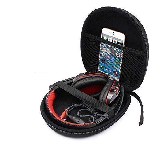 Portable Etui Housse Rigide de Rangement Pour Casque écouteur Sennheiser HD218 228 238 Sony MDR-ZX100-MDR-MDR-ZX100NA XB950AP, etc.