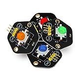 LYFEI LDTR-RM012 / K Botón pulsador Digital con Kit de módulo de luz...