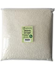 American Soy Organics- 25 lb of Freedom Soy Wax Beads for Candle Making – Microwavable Soy Wax Beads – Premium Soy Candle Making Supplies