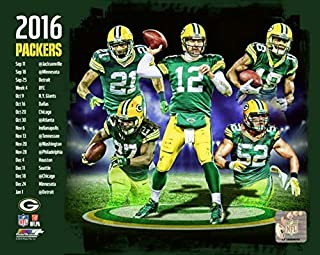 Green Bay Packers 2016 Team Composite Photo (Size: 8