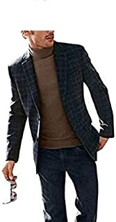 Checked Jacket from Heine in Color: Blue