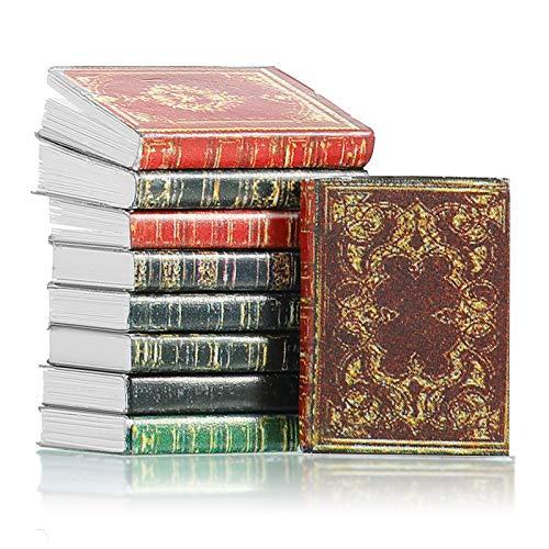 16 Livres Miniatures de Maison de Poupée Livres Miniatures...