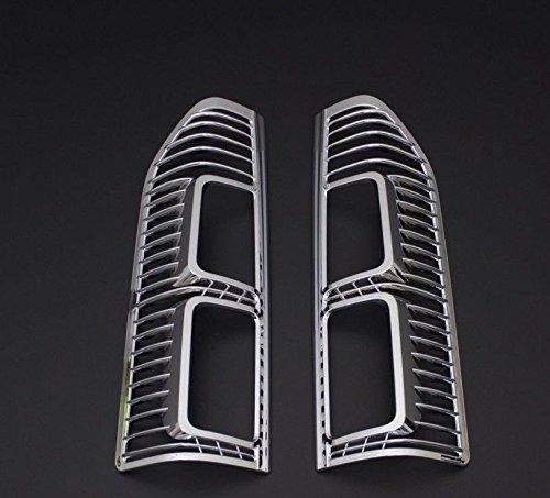 TRAFIC/VIVARO ABS Chroom Achterlicht Velg Covers 2 Stuks