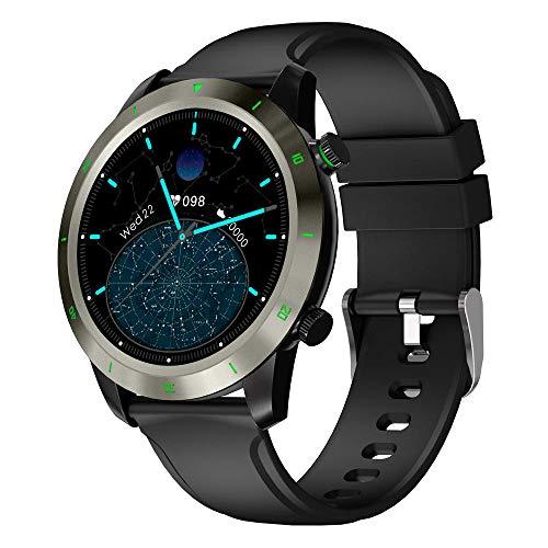 Smartwatch, Reloj Inteligente Impermeable IP69 para Hombre Mujer niños, Pulsera de Actividad Inteligente con Monitor de Sueño Contador de Caloría Pulsómetros Podómetro para Android iOS