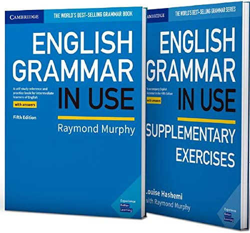 English Grammar in Use Book with Answers and Supplementary Exercises 5Th Edition (2 Books)