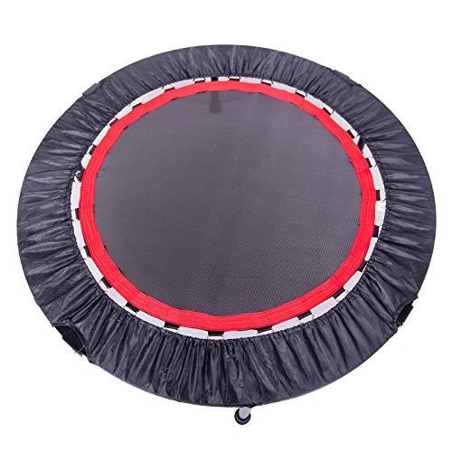 LZZJ Minifetia de 40 Pulgadas Ejercicio Trampolín para Adultos o niños - con Almohadilla de Seguridad |MAX Indoor Fitness Rebounder Trampoline (Entrega Dentro de 7 días)