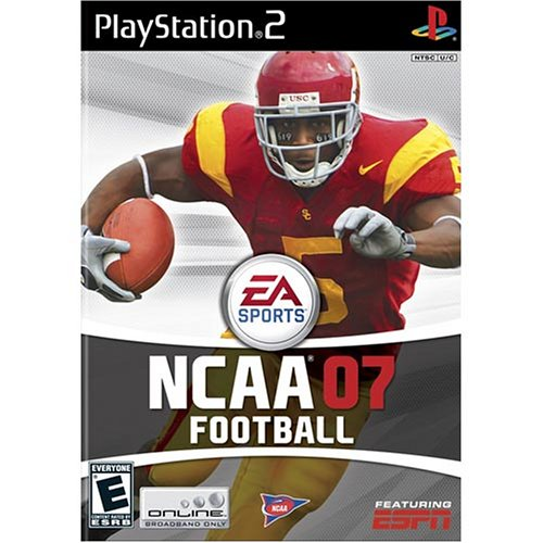 Amazon.com: NCAA Football 07 - PlayStation 2: Artist Not Provided: Video  Games