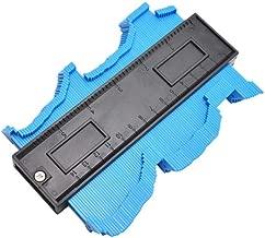 Medidor de contorno Duplicador de perfil irregular de 10 pulgadas para carpinter/ía Plantilla de seguimiento de forma Herramienta de medici/ón Perfil Gu/ía de plantilla Tubo Azulejo Calibre