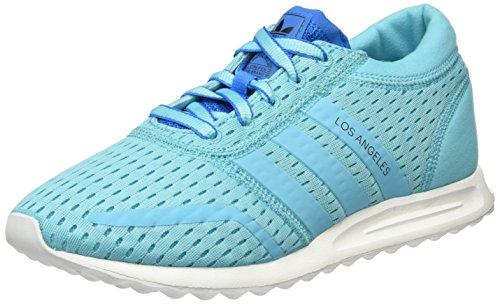 adidas Damen Los Angeles Sneakers, Blau (Blue Glow/Blue Glow/Shock Blue), 38
