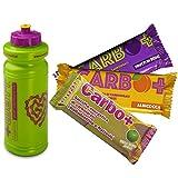 +watt carbo+ 20 barrette energetiche con maltodestrine gusto frutti di bosco