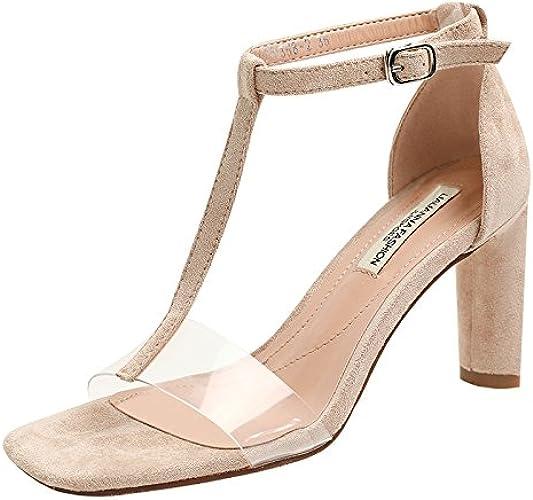 AGECC Transparent Sandals with talons hauts of talons hauts