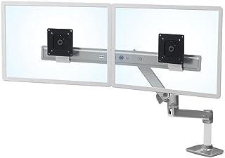 エルゴトロン LX デスクマウント デュアル ダイレクト モニターアーム 横型 シルバー 45-489-231