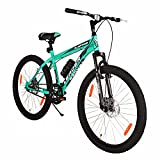 Leader Raptor MTB 26T Mountain Bicycle/Bike Without Gear Single Speed with Front Suspension and Dual...