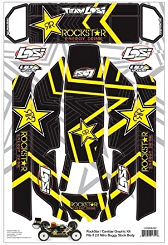 Rockstar Graphic Kit  8IGHT 2.0 by Team Losi