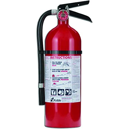 Kidde 21005779 Pro 210 Fire Extinguisher, ABC, 160CI, 4 lbs