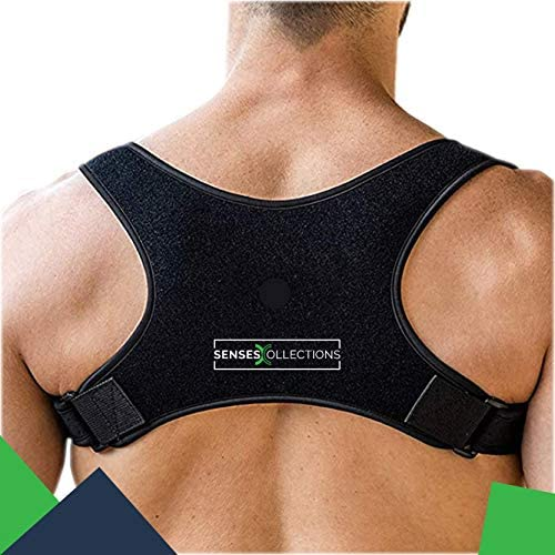 SENSESCOLLECTIONS Back Posture Corrector for Men and Women Discreet Under Clothes Comfortable product image