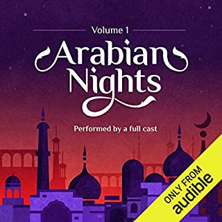 Arabian Nights: Volume 1     An Audible Original Drama              Written by:                                                                                                                                 Marty Ross                               Narrated by:                                                                                                                                 Zahra Ahmadi,                                                                                        Raghad Chaar,                                                                                        Omid Djalili,                   and others                 Length: 8 hrs and 20 mins     29 ratings     Overall 4.5