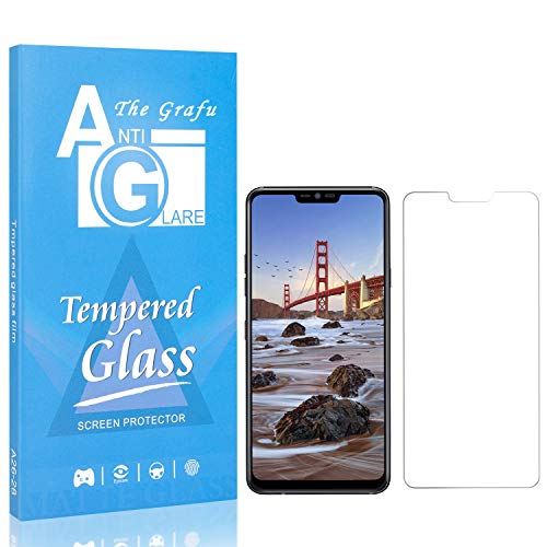 The Grafu Screen Protector for LG G7 / LG G7 ThinQ, 9H Hardness Tempered Glass, Bubble Free, Ultra Clear Screen Protector Compatible with LG G7 / LG G7 ThinQ, 1 Pack