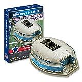 H-O Modèle de Stade de Rugby 3D, NFL Dallas Cowboys Football Team Accueil Stade de Cowboy Modèle Fans DIY Souvenir, 17'× 12' × 5'