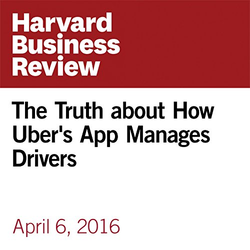 The Truth about How Uber's App Manages Drivers copertina