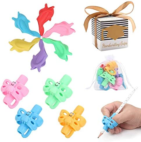Premium Training Pencil Grips for Kids handwriting for preschool Ritchoi Upgrade Right or Left product image
