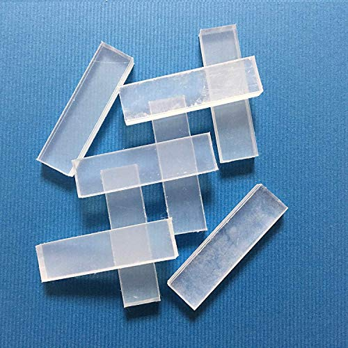 Reusable Clay Mold Making Only Use Hot Water. Eco package (Clear White, 8pcs)