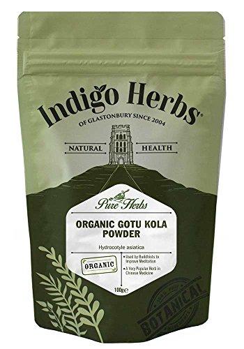 Indigo Herbs Bio Gotu Kola   Wassernabel Pulver 100g