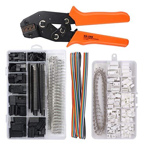 10 SETs Mini Micro JST 1.25 1.0 PH2.0 XH 2.5 Stecker Stecker mit Drähten Kabel