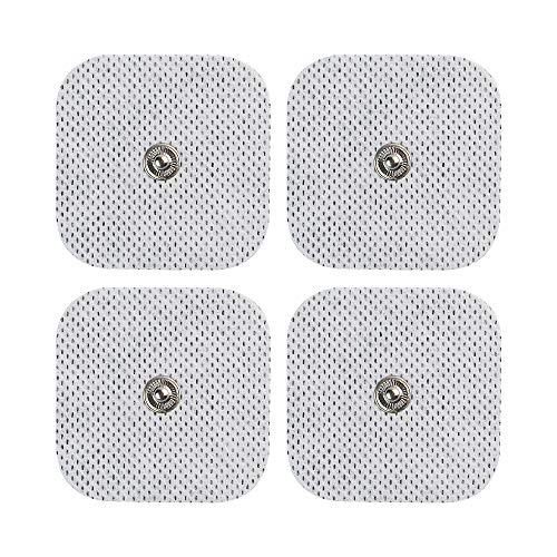Acuzone - Electrodos de presión TENS (40 unidades, 2.0 x 2.0in)