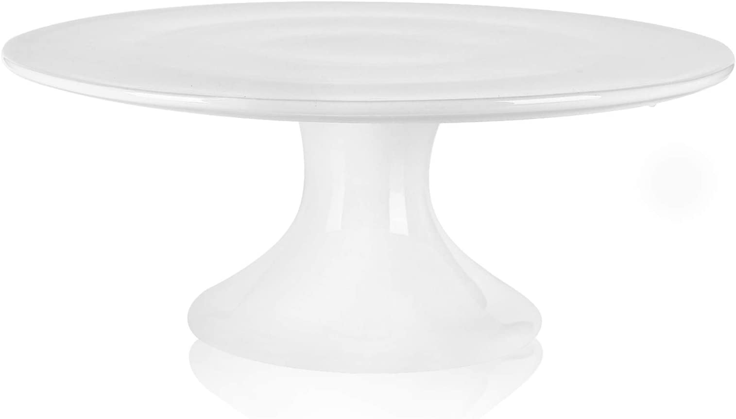 illustrated Cake Stand birthday lets celebrate READY TO SHIP 10 inch floral anniversary wedding