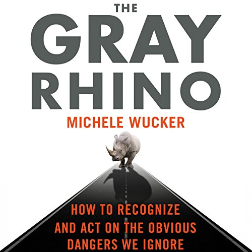 The Gray Rhino audiobook cover art