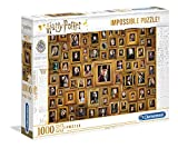 Clementoni- PZL 1000 Impossible Harry Potter Puzzle Adulto, Multicolor (61881)