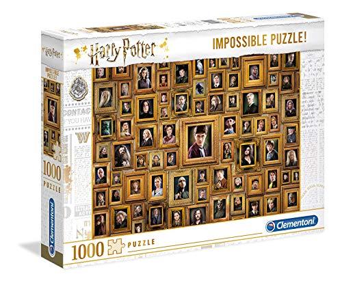 Clementoni- PZL 1000 Impossible Harry Potter Puzzle Adulto, Multicolor (61881)