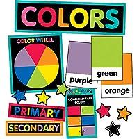 スクールガールスタイル 装飾的 Just Teach カラーカード ミニ掲示板セット (110396)