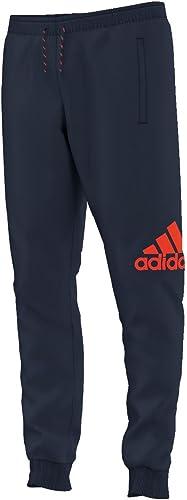 Adidas Pantalon de Sport pour Homme Essentials lumière Sweat Pantalon de Sport avec Logo cH XS Bleu - Bleu Marine