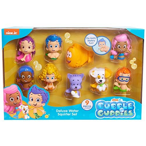 Bubble Guppies Nick Jr Deluxe Water Squirter Set