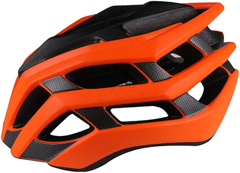 ZWYY Bike-Helm, Erwachsene Mountain Road Radhelme Leichtgewicht Sport Helm Breathable Schutzskatersicherheit Helm,Orange,M B07PTP4KWD  Hohe Qualität