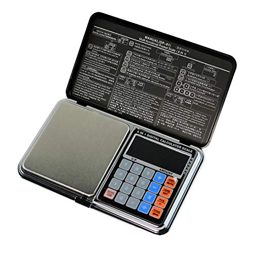 0.01g / 200g Digitale weegschaal Draagbare rekenmachine Weeggewicht Zakjuwelenweegschaal