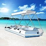 WFTD Toldo Multifuncional para Barcos, Protección Solar Impermeable Resistente a Los Rayos UV, Cubiertas Superiores para Barcos Toldo para Pesca, Ocio Y Entretenimiento,Large