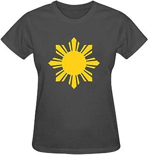 Women 3D Printed Yellow sunflower Round Collar Short sleeve T- Shirt