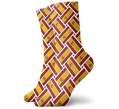 Calcetines deportivos casuales Calcetines de tobillo de tejido de bandera de Austria Calcetines de compresión de vestido corto para mujeres Hombres: Amazon.es: Ropa y accesorios