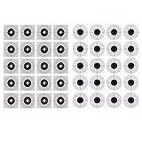 perfeclan 40 Stück Zielscheiben Bogenschießen Pfeil Zielscheiben Schießkarton