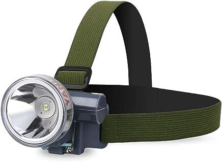 XUANLAN Lightweight LED Headlights Outdoor Lighting Flashlight Headlights Waterproof, Long Battery Life (Color : White Light)