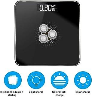 Básculas Digitales De Baño Escalas De Grasa Corporal Escala De Peso Inteligente De Energía Solar Regalo De Alta Precisión Para El Cuidado De La Salud Del Cuerpo Familiar Escala Electrónica P