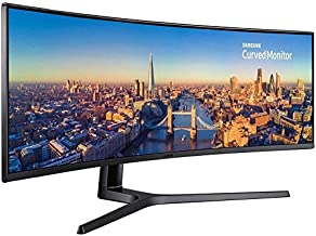 Samsung CJ890 Series 49 inch 3840x1080 Super Ultra-Wide Desktop Monitor for Business, 144 Hz, USB-C, HDMI, DisplayPort, 3-Year WRNTY (C49J890DKN)