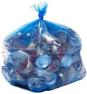 Toughbag 12-16 Gallon Recycling Bags - 250 / Case - Blue