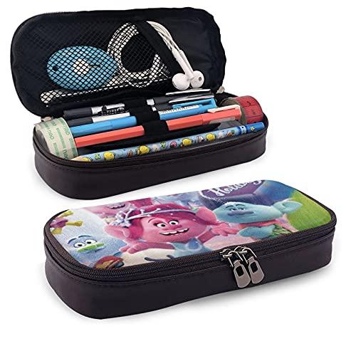 Tr-olls - Estuche para lápices con estampado informal para niños y niñas, unisex