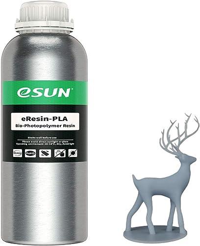 eSUN 405nm LCD 3D Printer Rapid Resin UV Curing Resin PLA Plant-Based Rapid Resin Biodegradable Resin Photopolymer Re...
