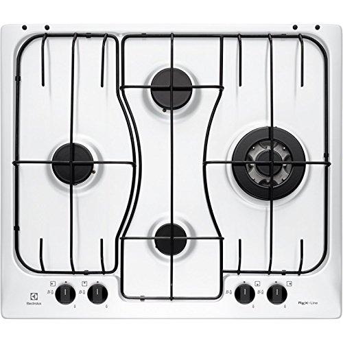 Electrolux RGG 6243 LOW Incasso Gas Bianco piano cottura
