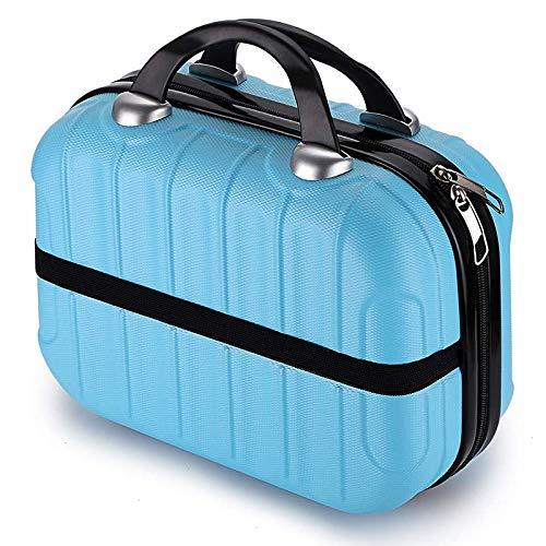 Andylies 132 Botellas Caja de Transporte de Almacenamiento de Pintura de Diamantes 5D Diamante Arte ArtesaníA Accesorio Bordado Organizador Bolsa Azul